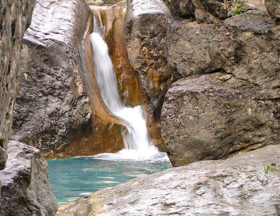Водопад под Судаком
