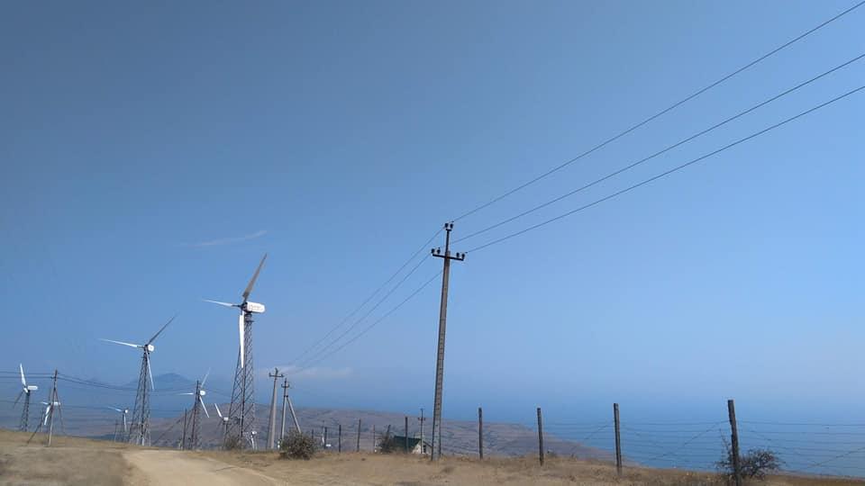 Ветряки на Меганоме