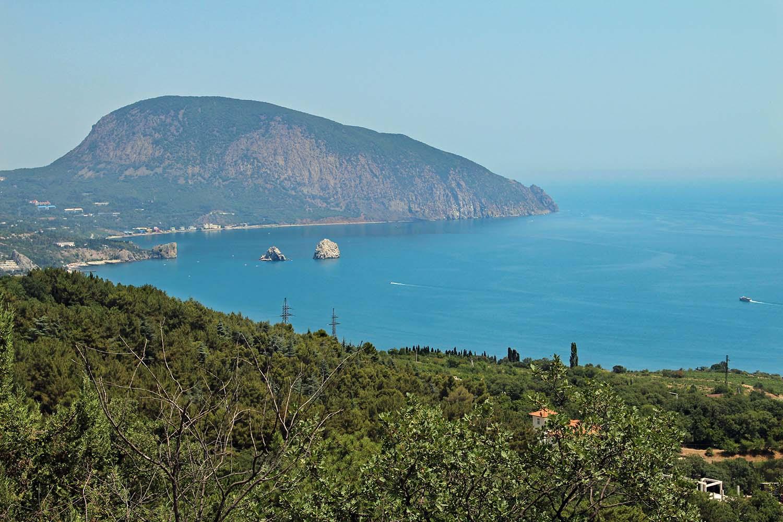 Горы в Крыму. Аю-даг