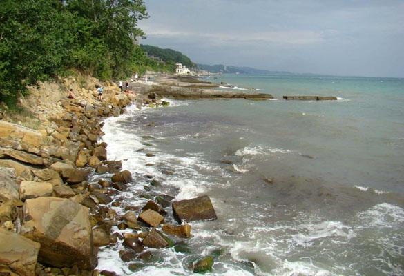 Разрушение пляжей